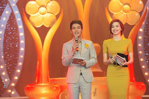 MC Phan Anh và Hồ Ngọc Hà