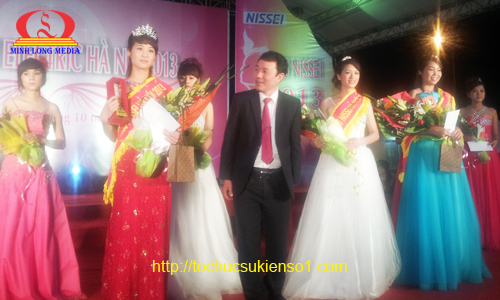 Top 3 Miss Nissei Electric Hà Nội 2013